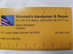 Woolards Handyman And Repair Logo