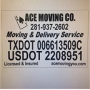 Ace Moving Co Logo