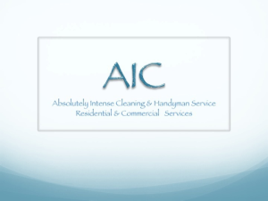 Aic Services Handyman & Cleaning Logo