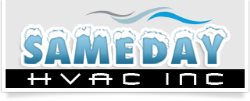 SAMEDAY HVAC INC Logo