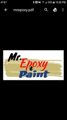 Mr. Epoxy & Paint Logo