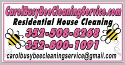 Carol Busy Be Cleaning Service Logo