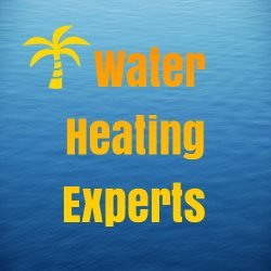 Water Heating Experts WHE Logo