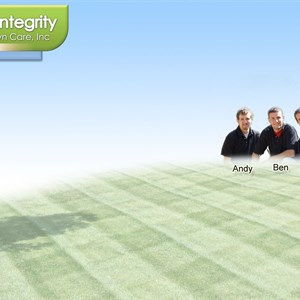 Integrity Lawn Mowing Logo
