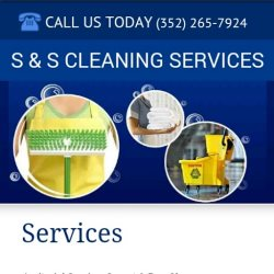 S&s Cleaning Services Logo