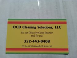Ocd Cleaning Solutions Logo
