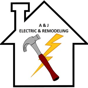 A & J Electric & Remodeling Logo