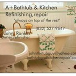 A+Bathtub & Tile Refinishing Houston Cover Photo