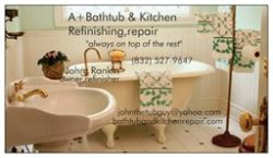A+Bathtub & Tile Refinishing Houston Logo