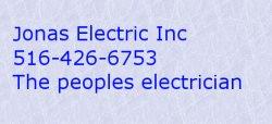 Jonas Electric Inc Logo