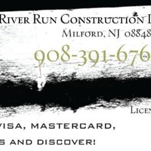 River Run Construction Logo