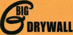 Big G Drywall Logo