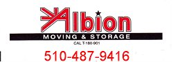 Albion Moving and Storage Logo