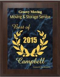 Groovy Moving Logo