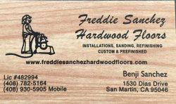 Freddie Sanchez Hardwood Flooring Logo