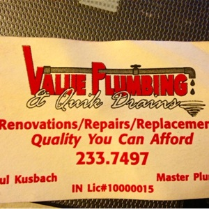 Value Plumbing LLC Logo