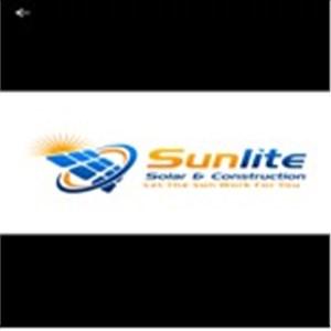 Sunlite solar & Construction Logo