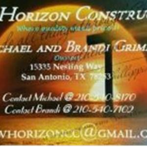Anew Horizon Construction, LLL Logo