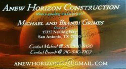 Anew Horizon Construction Logo