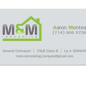 M&M Remodels & Repairs. Cover Photo