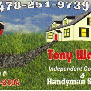 Tony Wallace Independent Contracting & Handyman Services Cover Photo