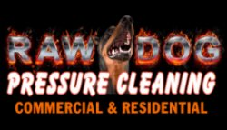 Raw Dog Pressure Cleaning Logo