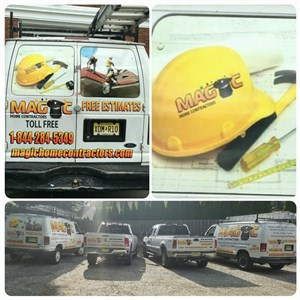 Magic Home Contractors Logo