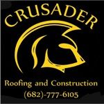 CRUSADER ROOFING AND CONSTRUCTION Logo