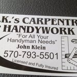 J.k.s Carpentry & Handy Work Logo