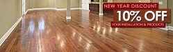 Budget Hardwood Flooring Logo