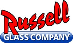 Aaction Russell Glass & Mirror Logo