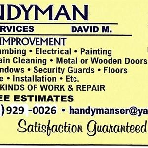HDs HandymanServices/DBA Logo