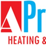 A-professional Heating & Air Logo