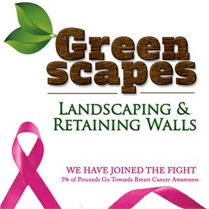 Greenscapes Landscaping & Retaining Walls Logo