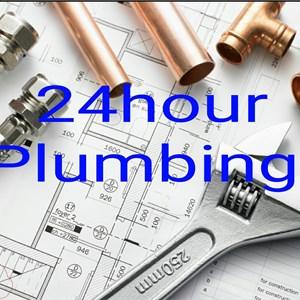 24hour Plumbing Logo