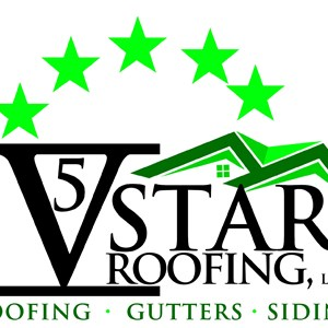Five Star Roofing contractors & repairs Logo