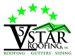 Five Star Roofing contractors & repairs Logo