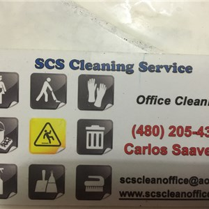 Scs Cleaning Service Logo