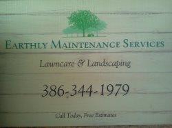 Earthly Maintenance Services, LLC Logo