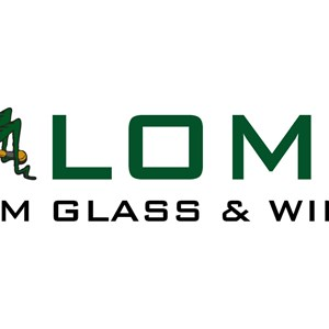 Lomax Custome Glass Logo