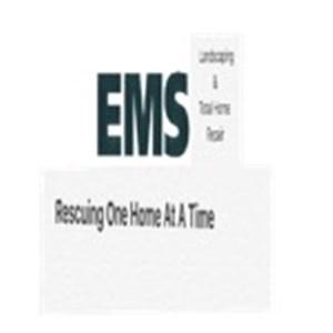 EMS Lanscaping &Total Home Repair Logo