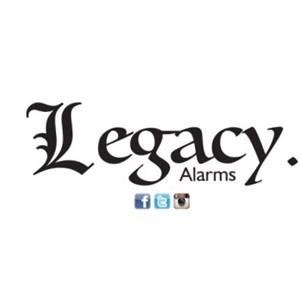 Legacy Alarms Logo