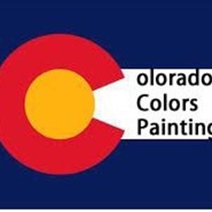 Colorado Colors Painting Logo