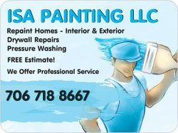 Isa painting llc Logo