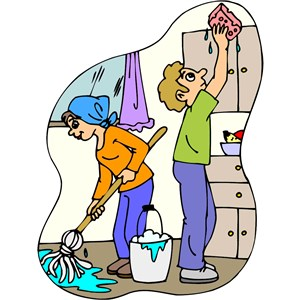 C & R Cleaning Service Logo