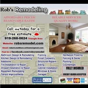 Robs Remodeling Logo