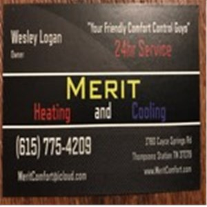 Merit Heating & Cooling LLC Logo