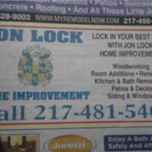 Jon Lock Home Improvements Logo