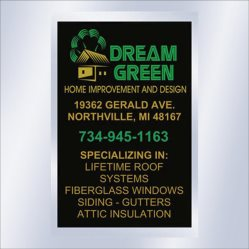 Dream Green Home Improvement And Design Logo
