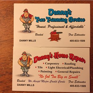 Dannys Home Repair Logo